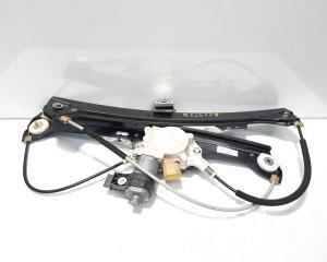 Macara cu motoras stanga fata, cod 7184741S, Bmw 5 (E60), 2.0 diesel, N47D20A (id:459122)