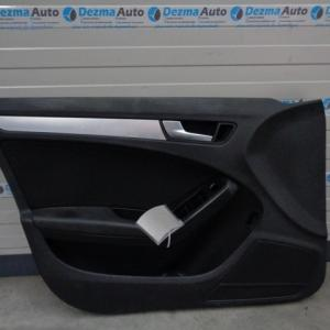 Tapiterie stanga fata, 8K1867105, Audi A4 Avant 8K5, B8 (id:198189)