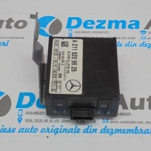 Modul alarma A2118209626, Mercedes Clasa E (W211) 2002-2008 (id:152016)