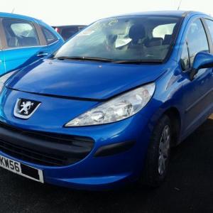 Dezmembrez Peugeot 207, 1.4benzina, 2012