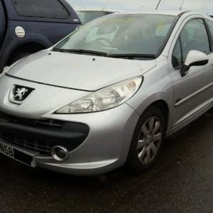 Dezmembrez Peugeot 207, 1.4hdi 2008