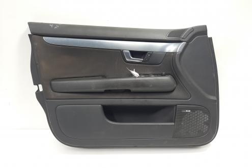 Tapiterie stanga fata, cod 8E1867105, Audi A4 (8EC, B7) (id:468742)