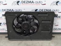 Electroventilator cu releu, 6G91-8C607-PE, Ford Mondeo 4, 2.0tdci, UFBA