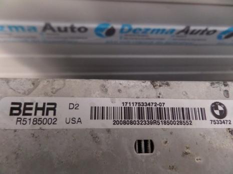 Radiator racire apa, 17117533472, Bmw X5 (E70), 3.0D, (id.162659)